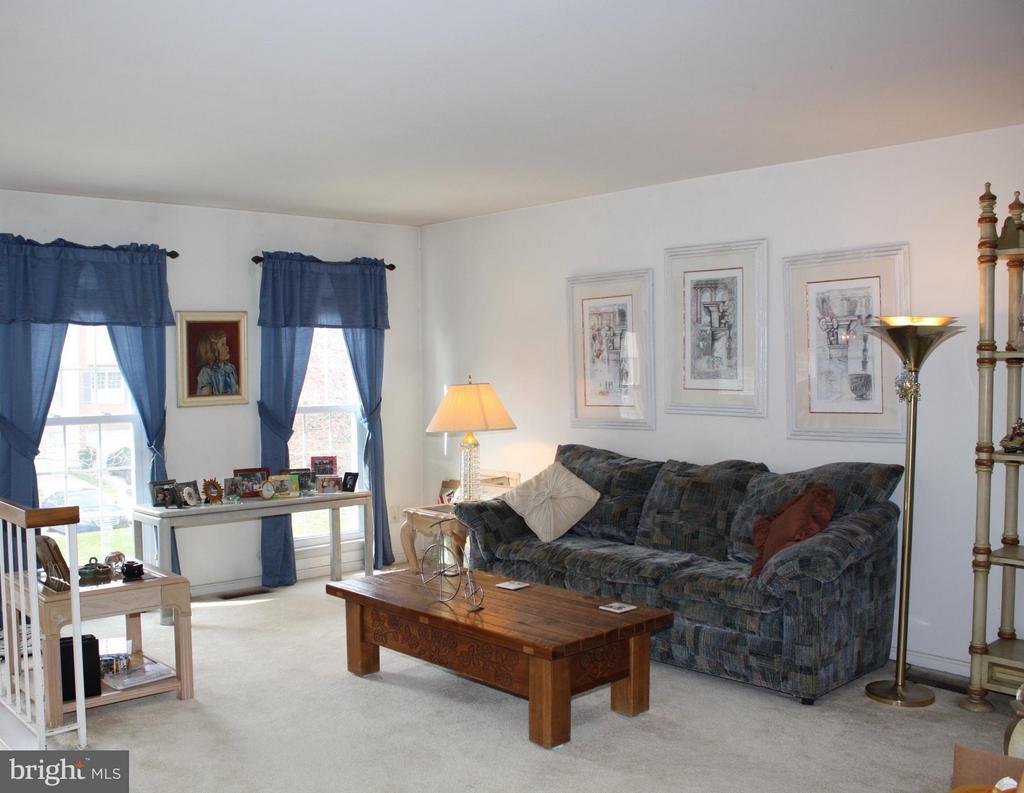 Living Room - 20409 IVYBRIDGE CT, MONTGOMERY VILLAGE