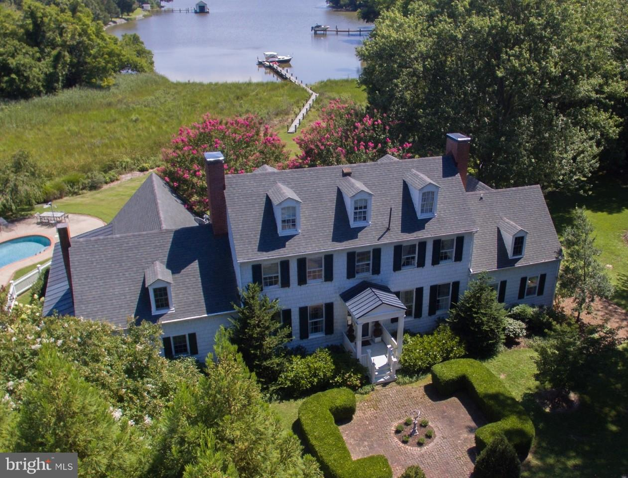 Single Family for Sale at 4895 Judiths Garden Rd Oxford, Maryland 21654 United States