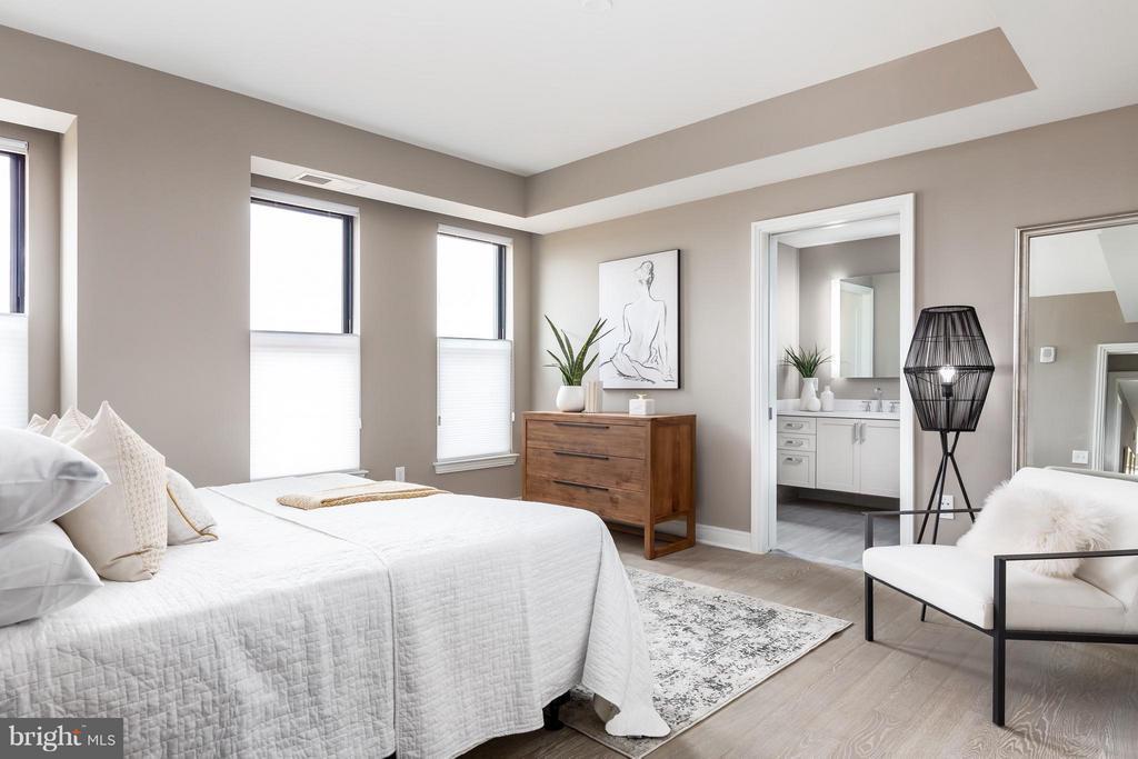 Bedroom (Master) - 8302 WOODMONT AVE #603, BETHESDA