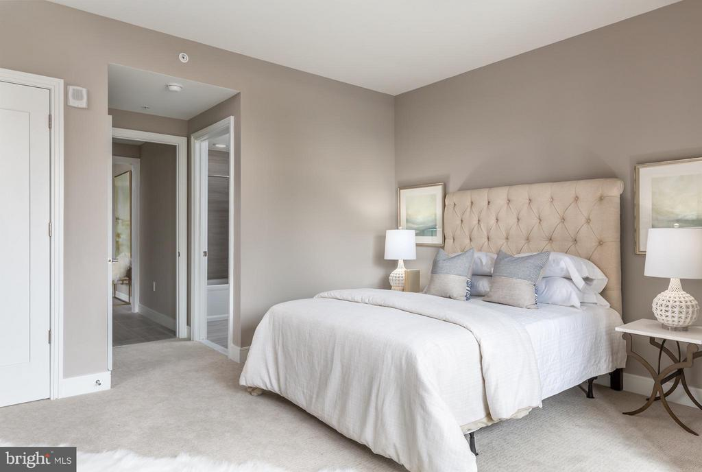 Bedroom - 8302 WOODMONT AVE #603, BETHESDA