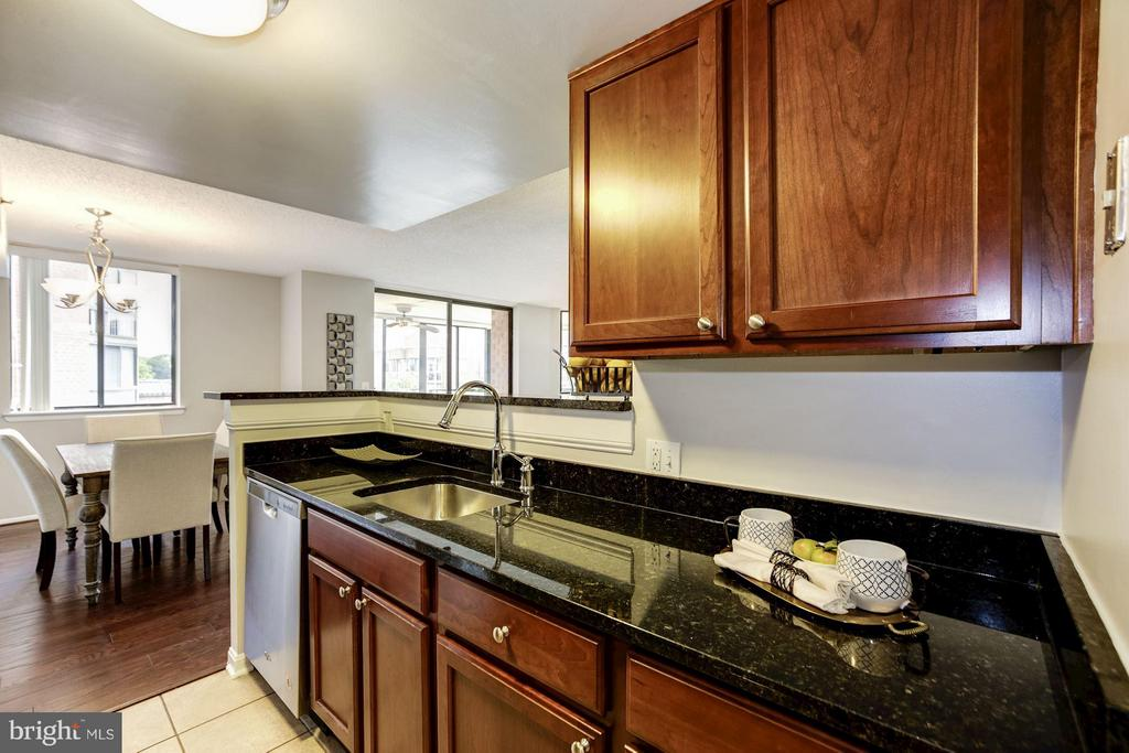 KITCHEN - STAINLESS STEEL APPLIANCES! - 1001 VERMONT ST N #710, ARLINGTON