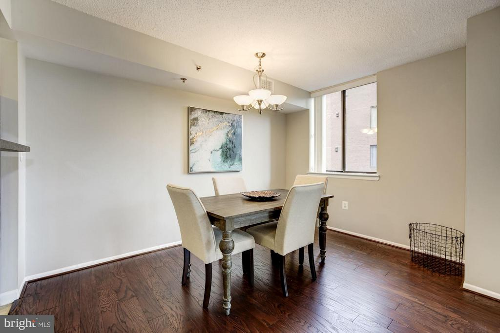 DINING ROOM - BRAND NEW HARDWOOD FLOORS! - 1001 VERMONT ST N #710, ARLINGTON