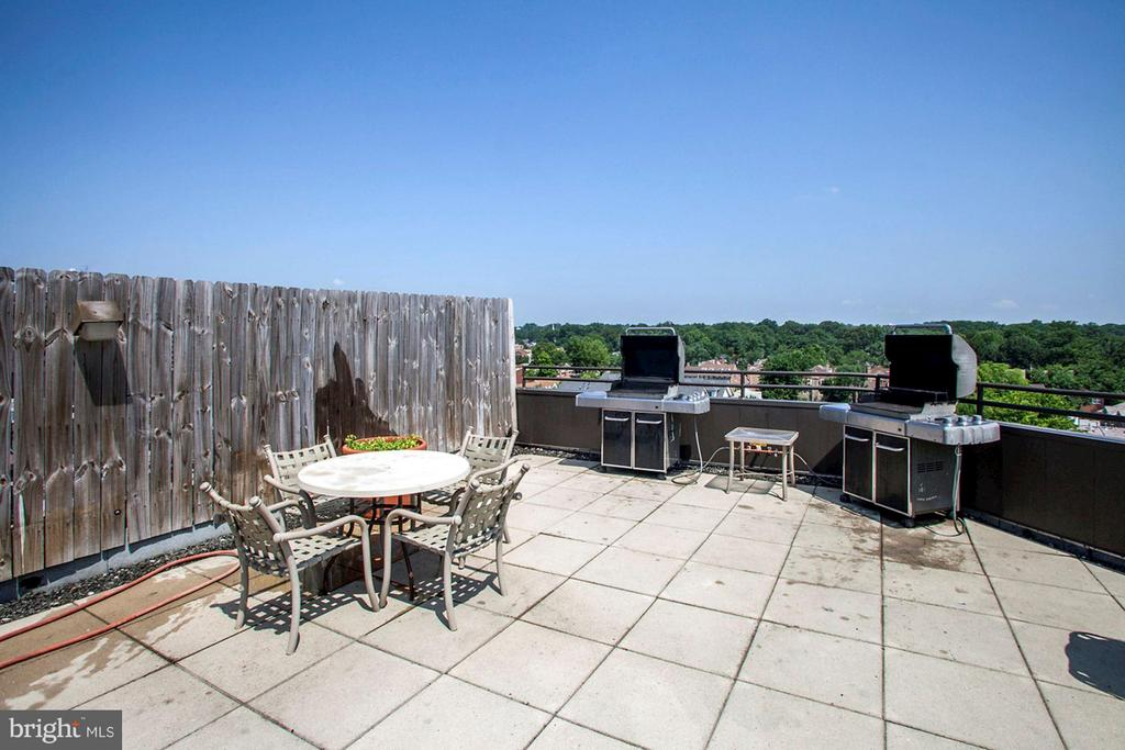 ROOTOP SUNDECK with BBQ GRILLS, TABLES, CHAIRS! - 1001 VERMONT ST N #710, ARLINGTON