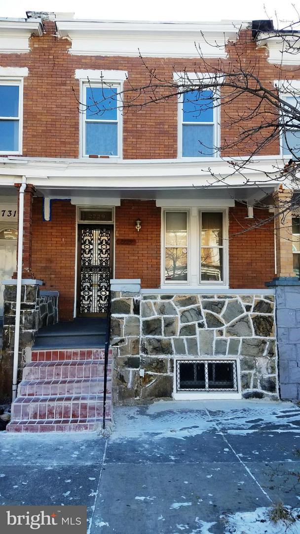 Photo of home for sale at 2729 Ashland Avenue, Baltimore MD