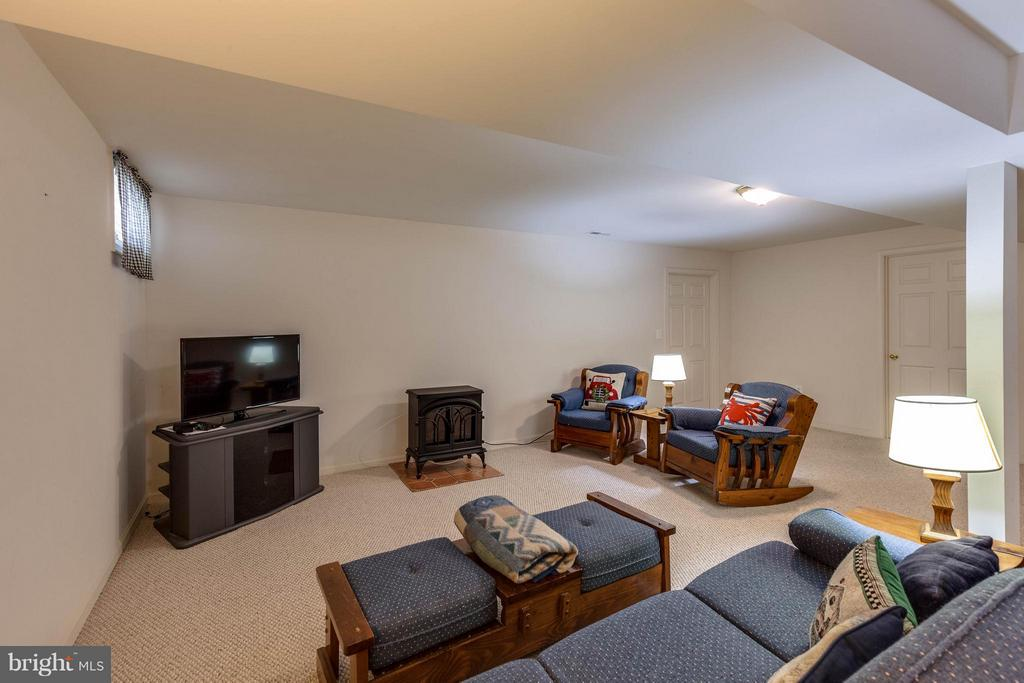 RECREATION ROOM LOWER LEVEL - 2630 INWOOD DR, ADAMSTOWN