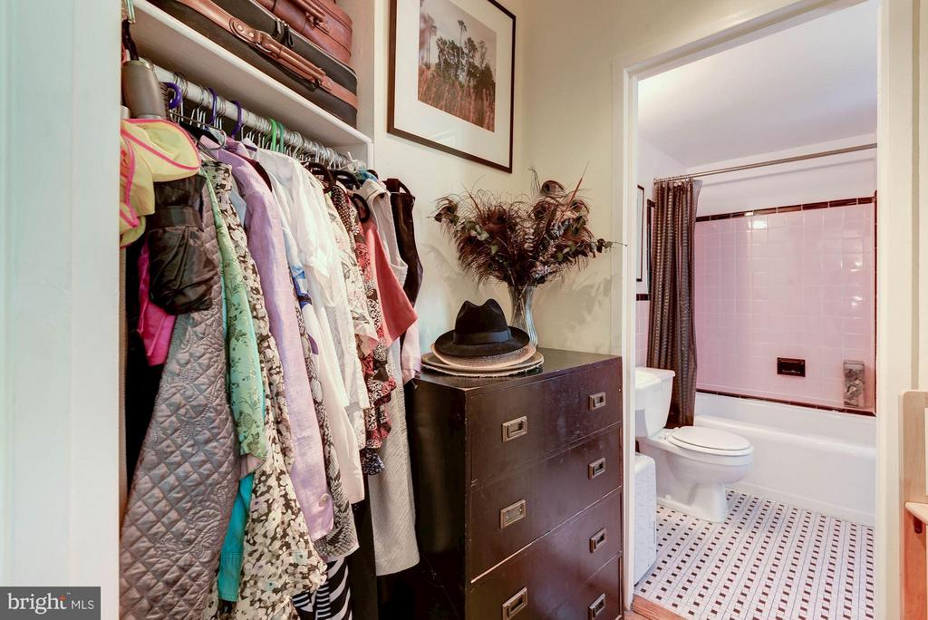 Walk-In Closet - 5315 CONNECTICUT AVE NW #410, WASHINGTON