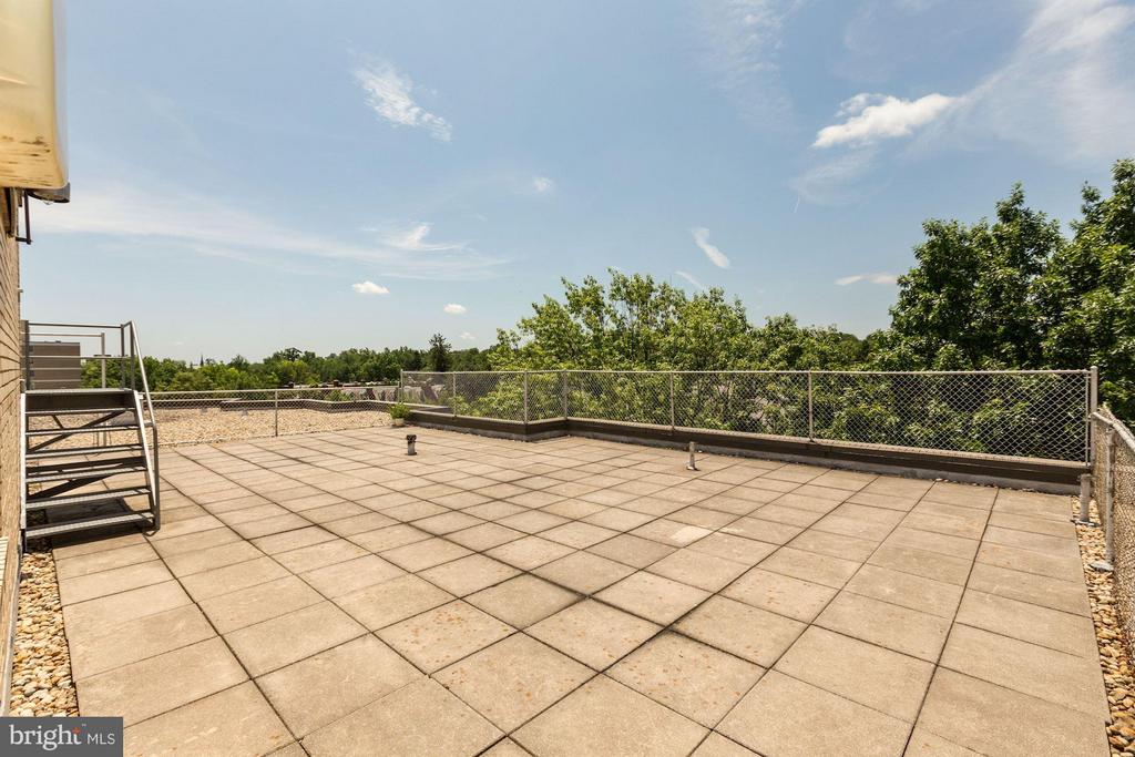 Roof Deck - 5315 CONNECTICUT AVE NW #410, WASHINGTON