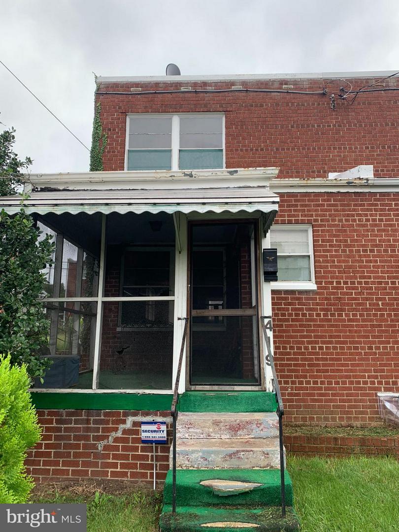 Photo of home for sale at 419 Kennedy Street Ne, Washington DC