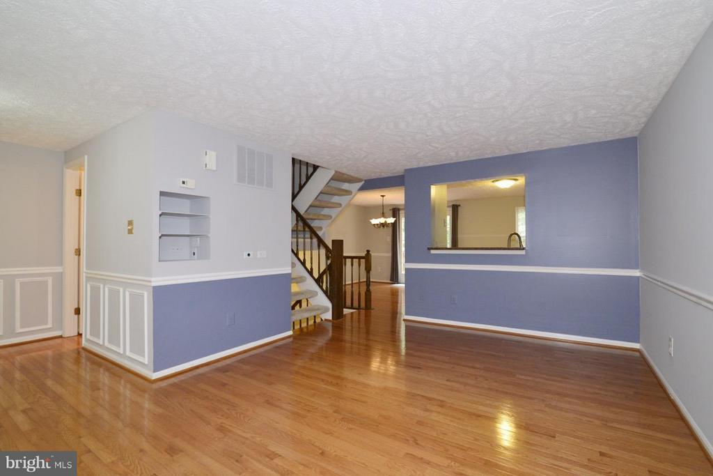 Living Room Vew of Kitchen Pass Through - 1478 AUTUMN RIDGE CIR, RESTON