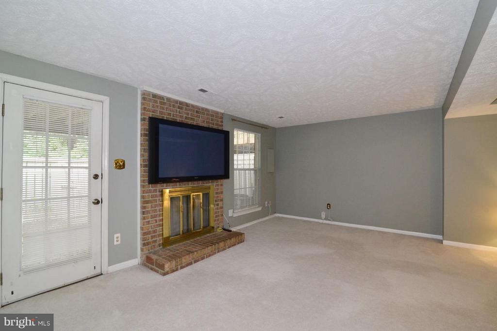 Family Room Lower Level - 1478 AUTUMN RIDGE CIR, RESTON