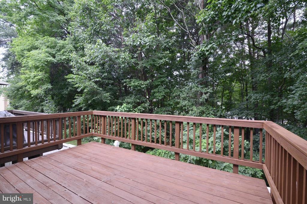 Deck Looks Out on Deck - 1478 AUTUMN RIDGE CIR, RESTON