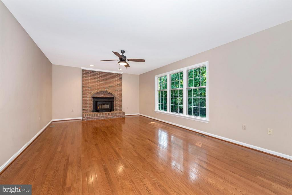 Gorgeous hard wood and brick hearth - 4800 MARIANNE DR, MOUNT AIRY