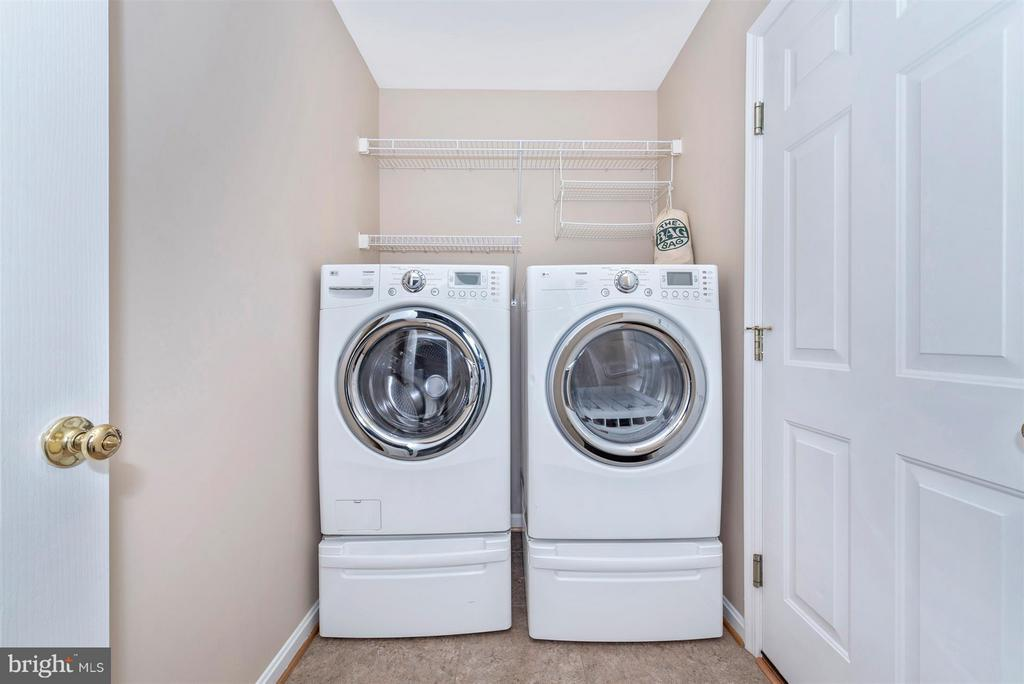 Laundry room - 4800 MARIANNE DR, MOUNT AIRY