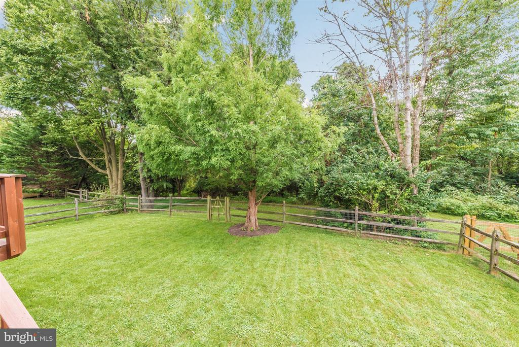 Exterior rear yard - 11150 WORCHESTER DR, NEW MARKET