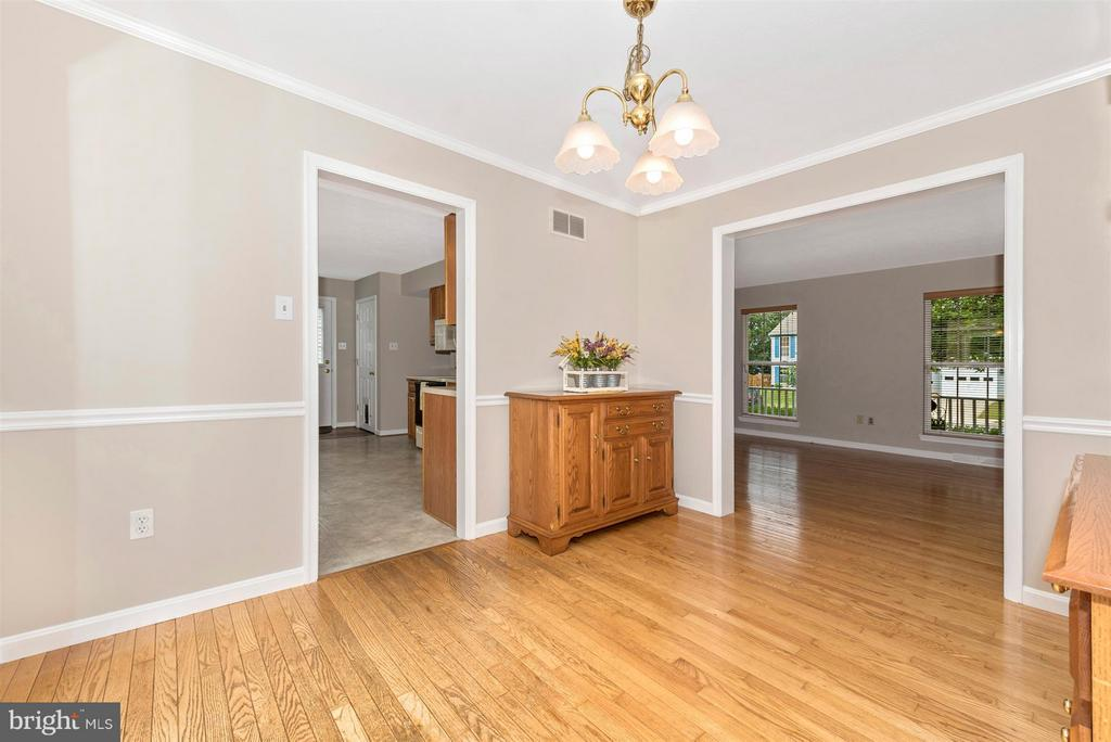 Dining Room - 11150 WORCHESTER DR, NEW MARKET