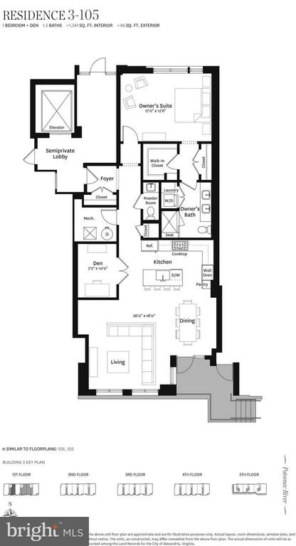 Interior (General) - 300 SOUTH UNION ST #RESIDENCE 3-105, ALEXANDRIA