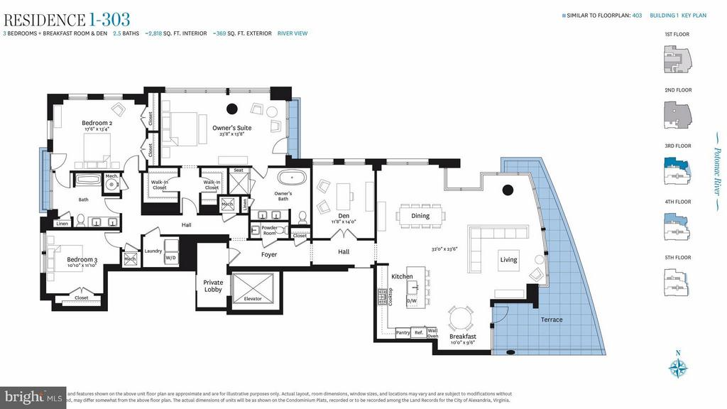 Interior (General) - 300 SOUTH UNION ST #RESIDENCE 1-303, ALEXANDRIA