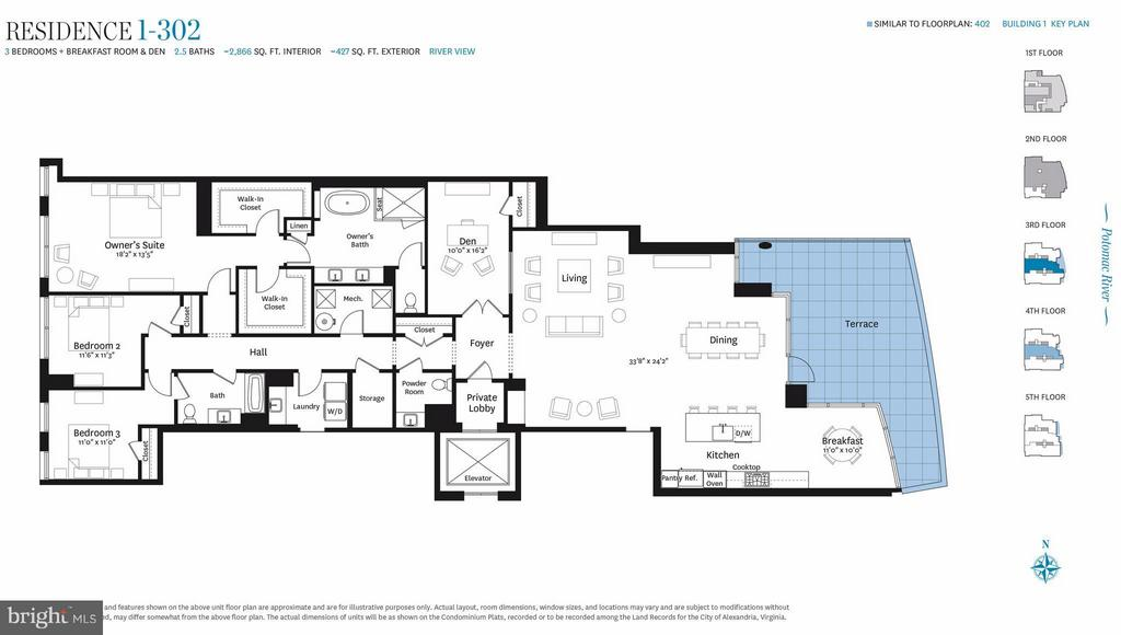 Interior (General) - 300 SOUTH UNION ST #RESIDENCE 1-302, ALEXANDRIA