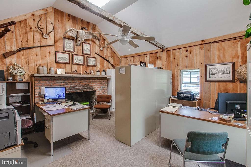 Inside office is n great condition with fireplace - 11029 OLD ANNAPOLIS RD, FREDERICK