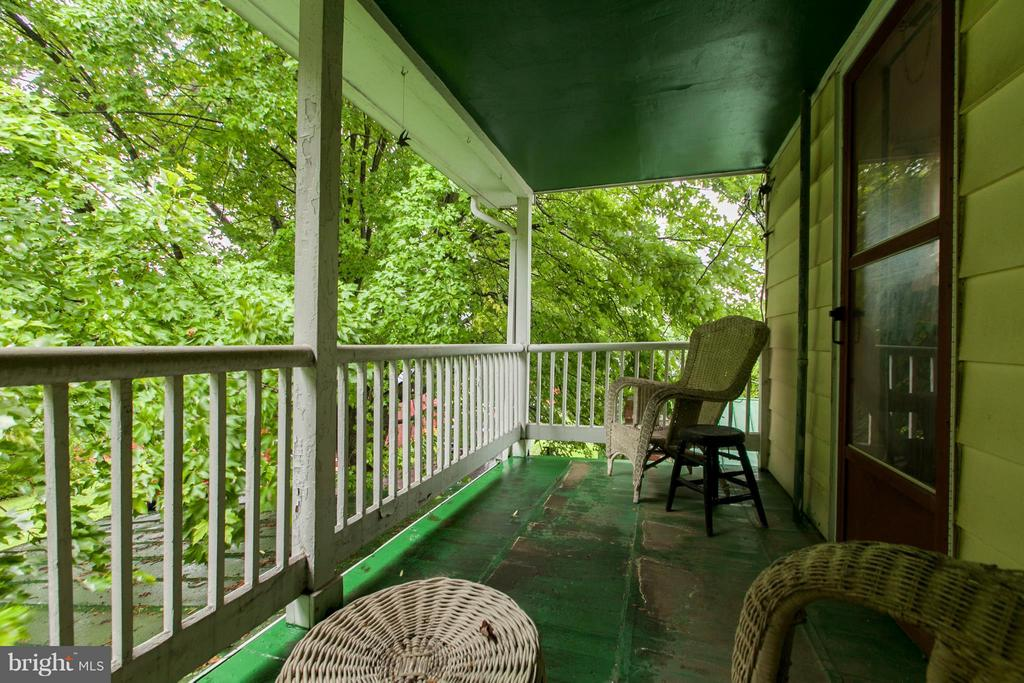 Private covered balcony off 2nd level bedroom - 11029 OLD ANNAPOLIS RD, FREDERICK