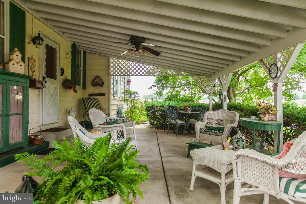 Enjoy the covered front porch - 11029 OLD ANNAPOLIS RD, FREDERICK
