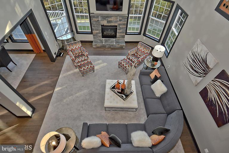 DRAMATIC OVERLOOK TO THE FAMILY ROOM - 14270 BURNTWOODS RD, GLENWOOD