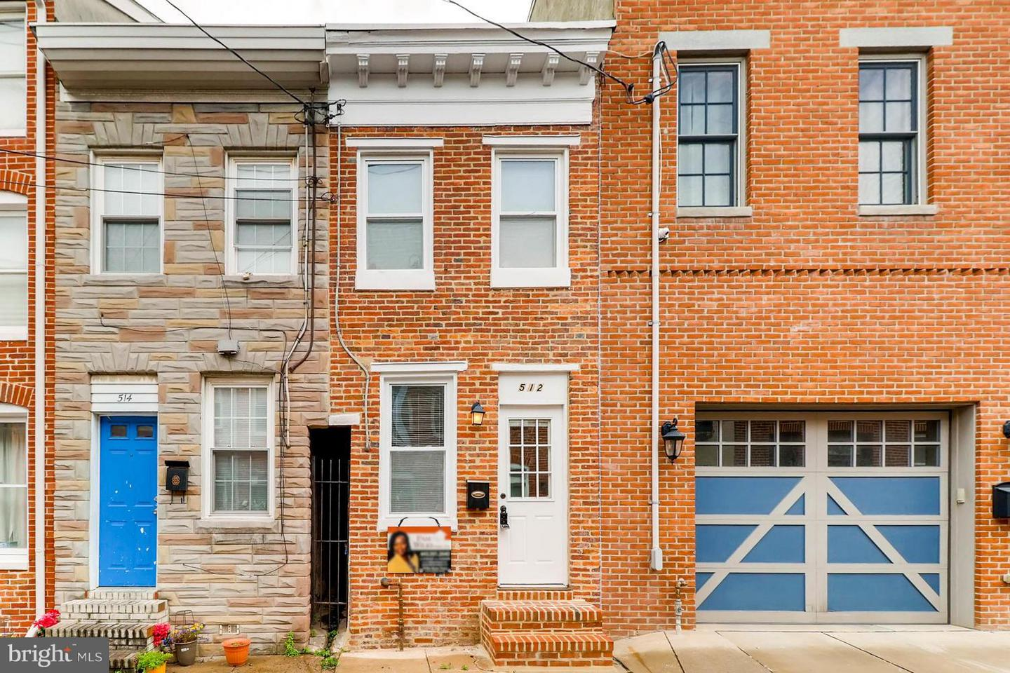 Single Family for Sale at 512 Chapel St Baltimore, Maryland 21231 United States