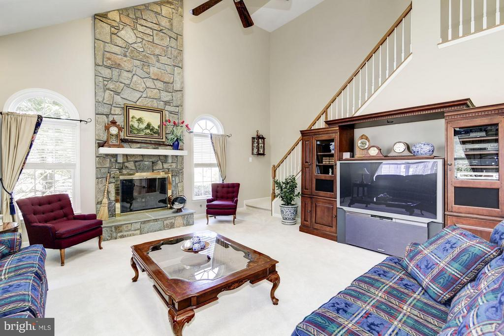 Family Room - 1320 ALDBURY WAY, RESTON