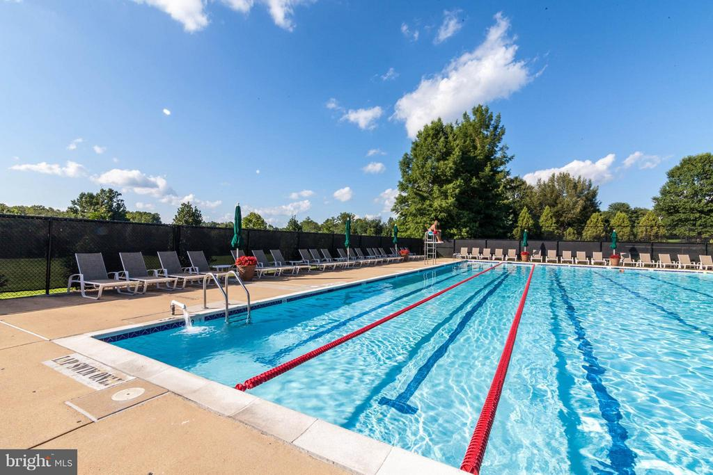 Community Pool - 1320 ALDBURY WAY, RESTON