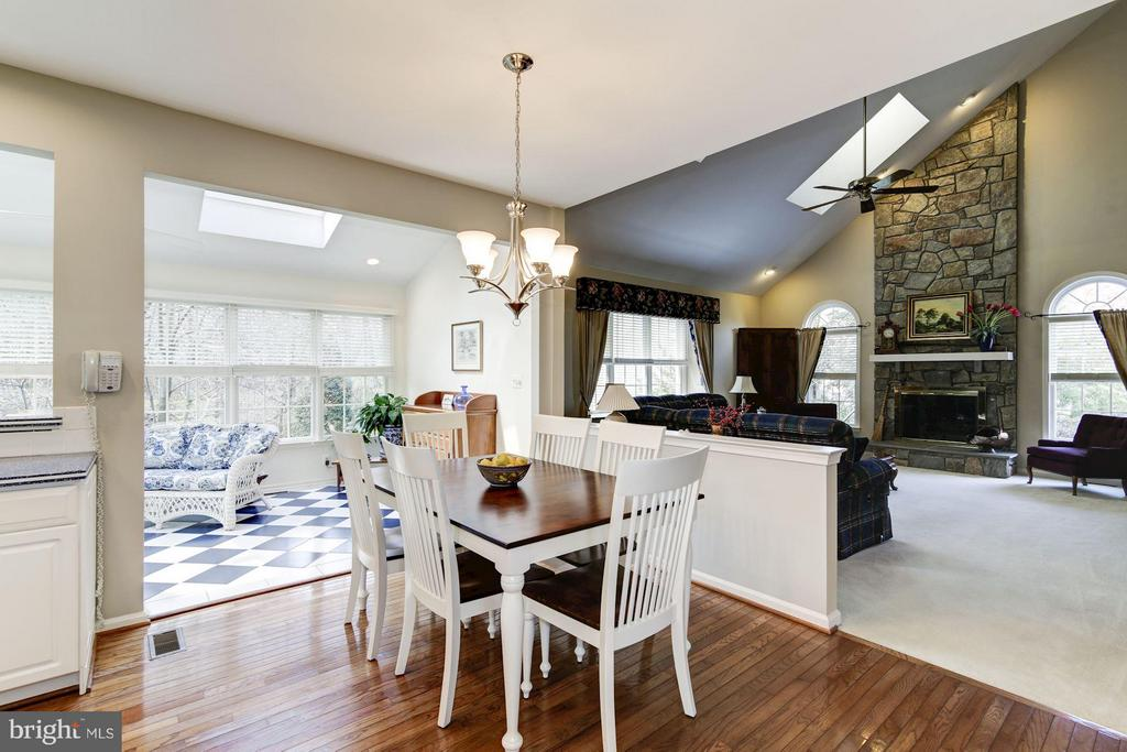 Breakfast Area - 1320 ALDBURY WAY, RESTON