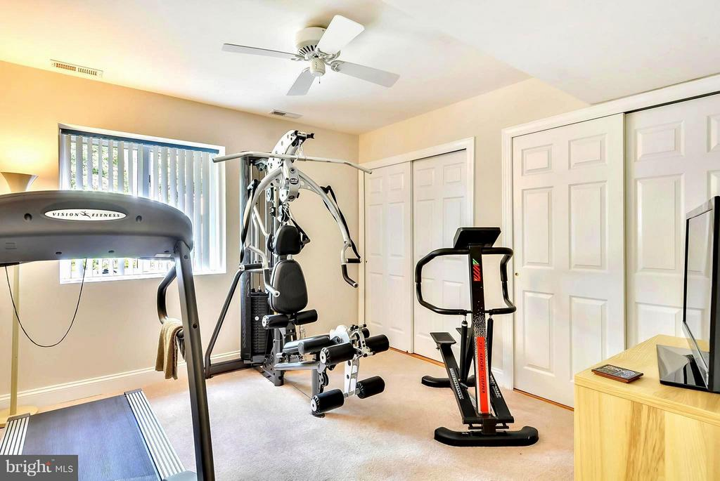 Lower Level Exercise Room/ Lots of Storage Options - 1584 LANCASTER GRN, ANNAPOLIS