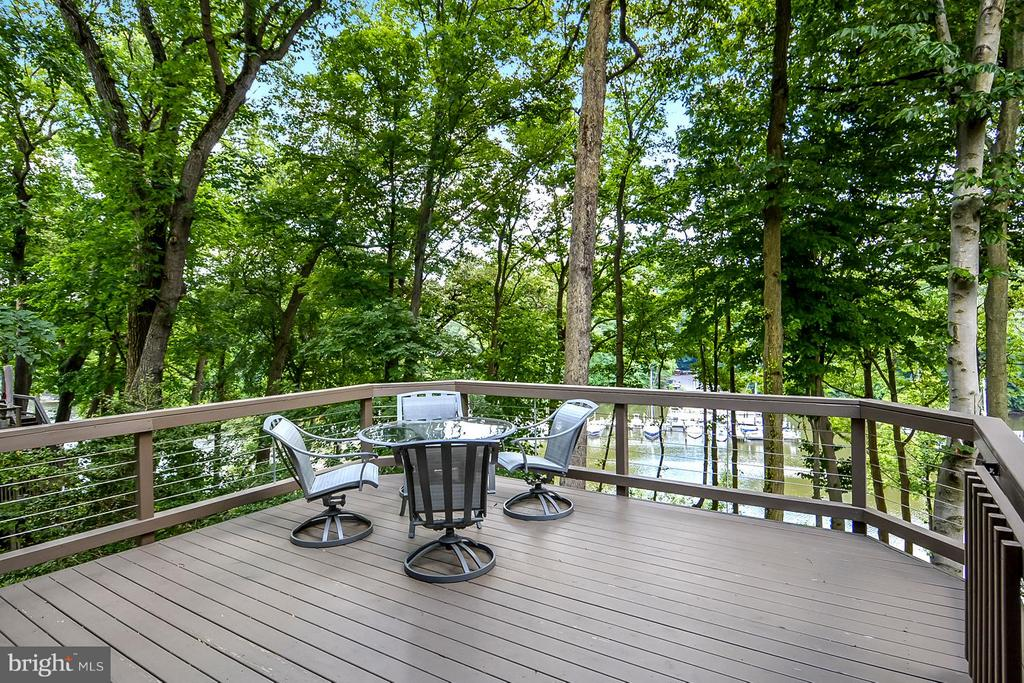 Access to Tiered Waterside Decks / Panoramic Views - 1584 LANCASTER GRN, ANNAPOLIS