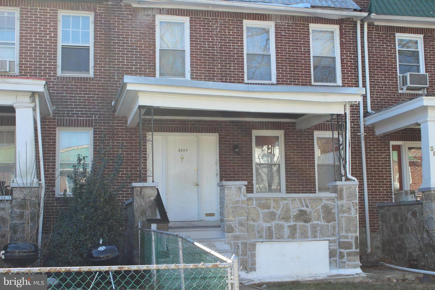 Single Family for Sale at 3807 Norfolk Ave Baltimore, Maryland 21216 United States