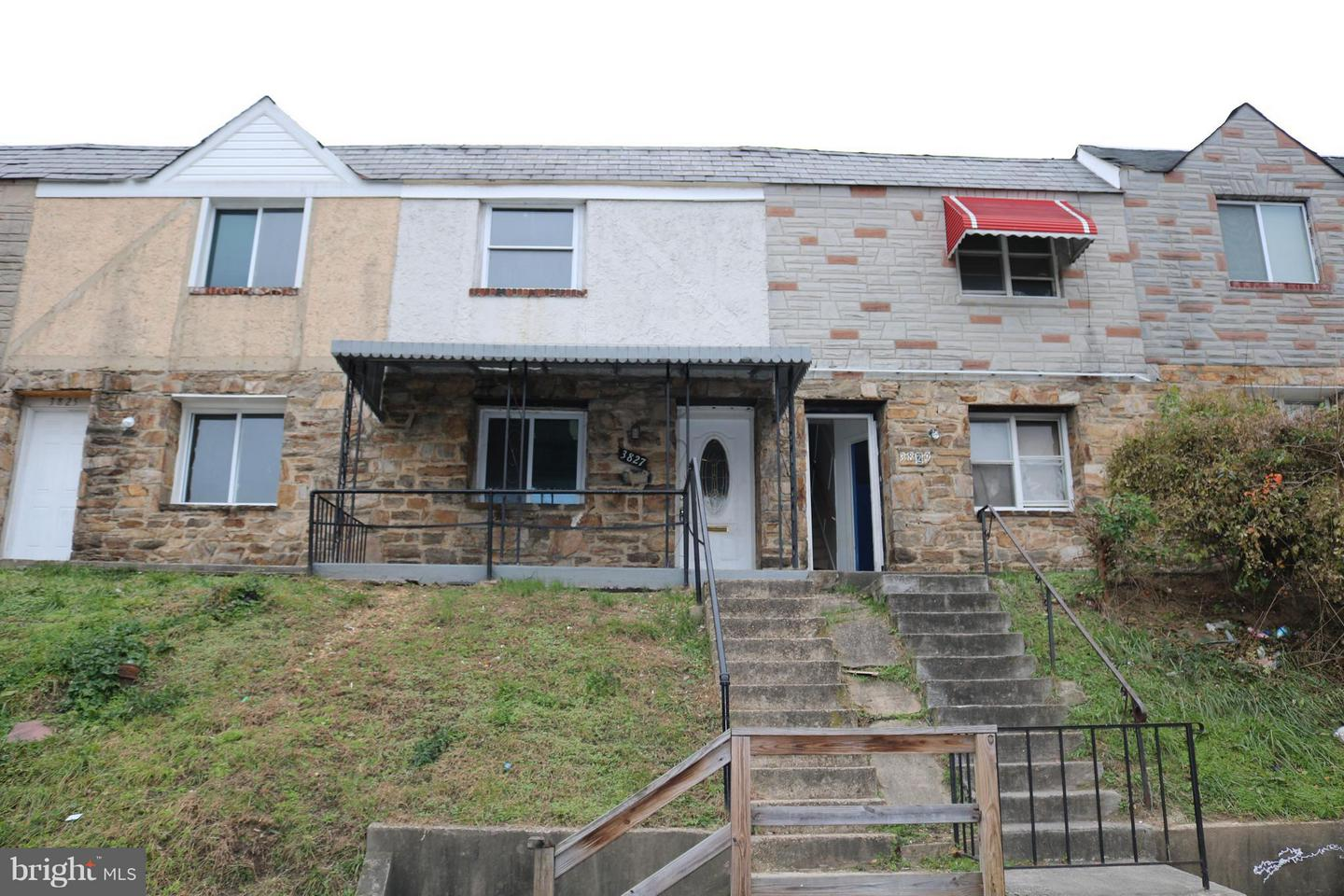 Single Family for Sale at 3827 8th St Baltimore, Maryland 21225 United States