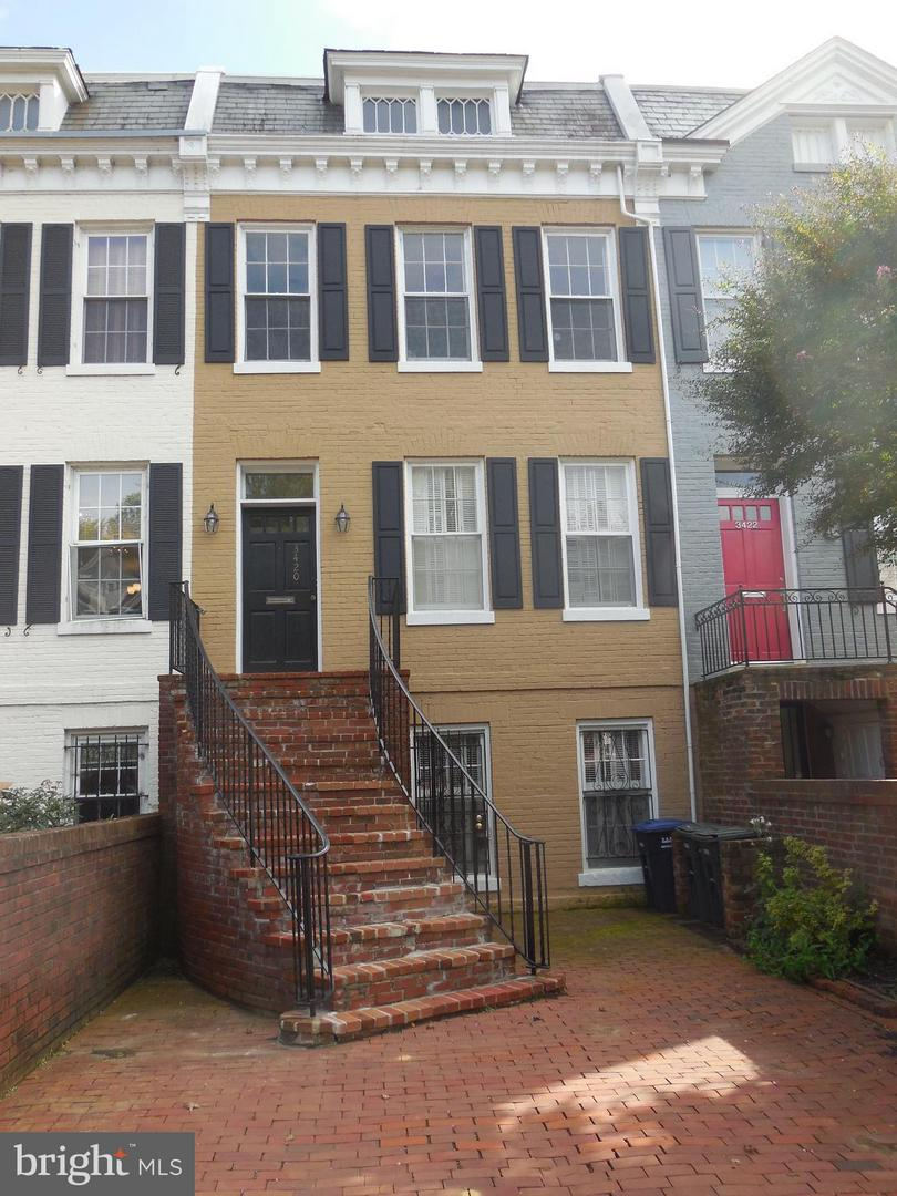 Photo of home for sale at 3420 R Street Nw, Washington DC