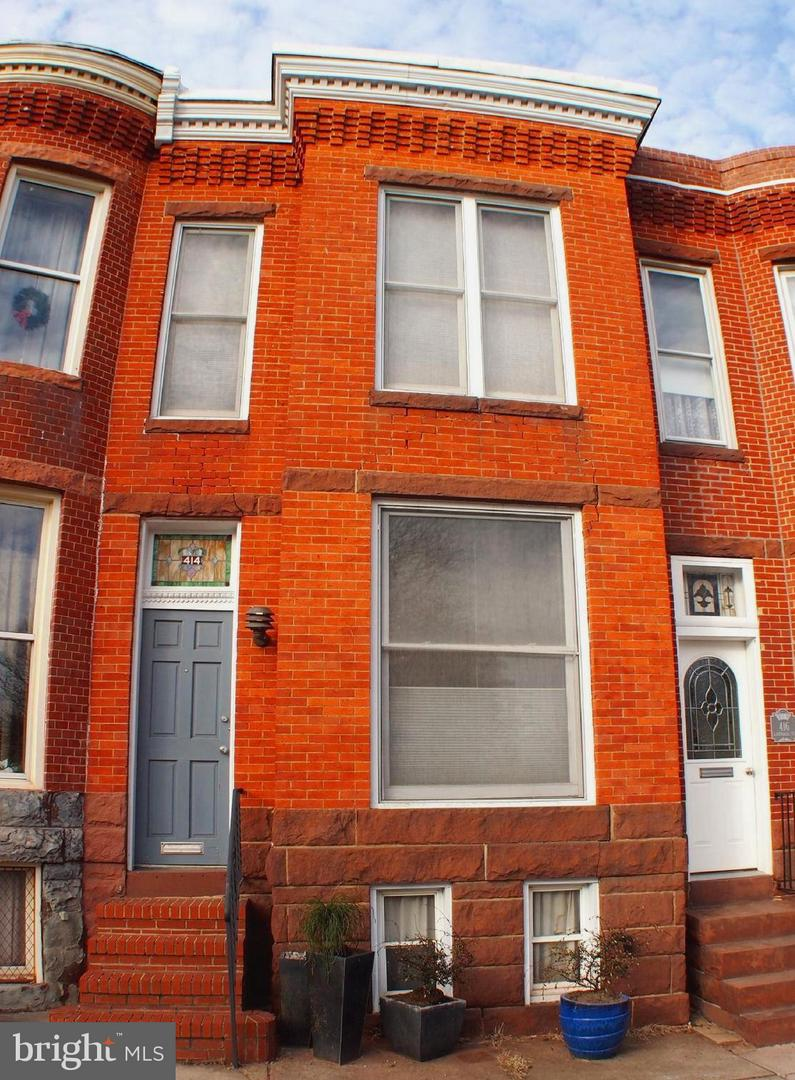 Single Family for Sale at 414 Randall St Baltimore, Maryland 21230 United States