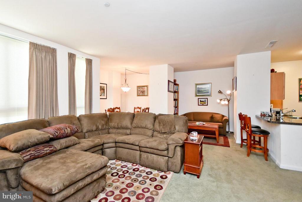 Living Room - 350 G ST SW #N104, WASHINGTON