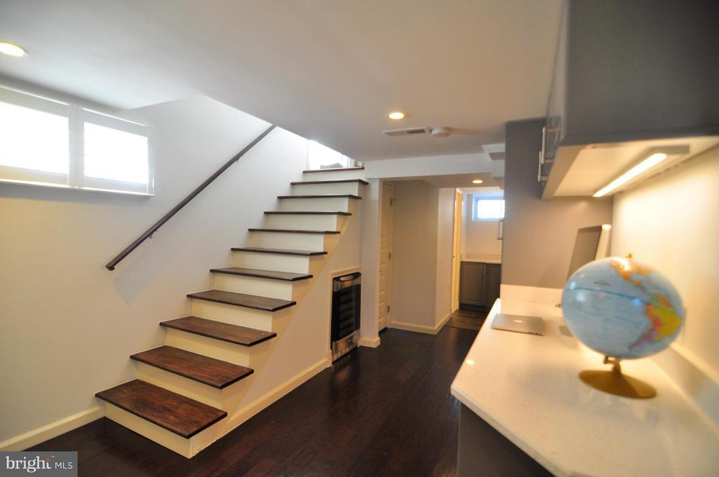 Newly finished basement with amenities galore. - 50 FENWICK ST N, ARLINGTON