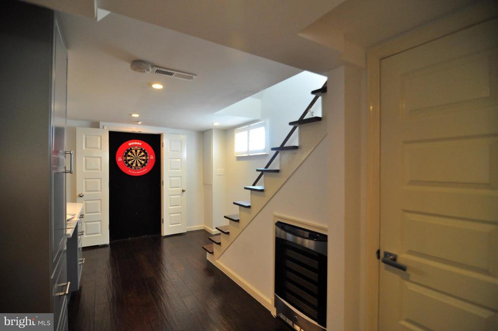 Secret dart board! - 50 FENWICK ST N, ARLINGTON