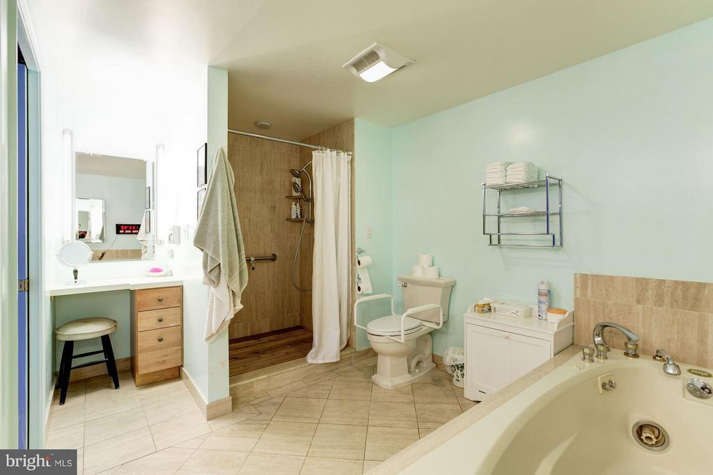 MBATH WITH SEPARATE TUB AND SHOWER - 5610 WISCONSIN AVE #406, CHEVY CHASE