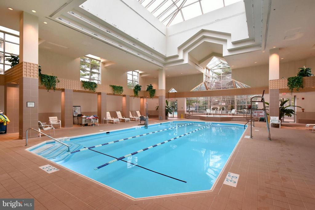 3-STORY CLUBHOUSE WITH INDOOR POOL AND FULL GYM - 5610 WISCONSIN AVE #406, CHEVY CHASE