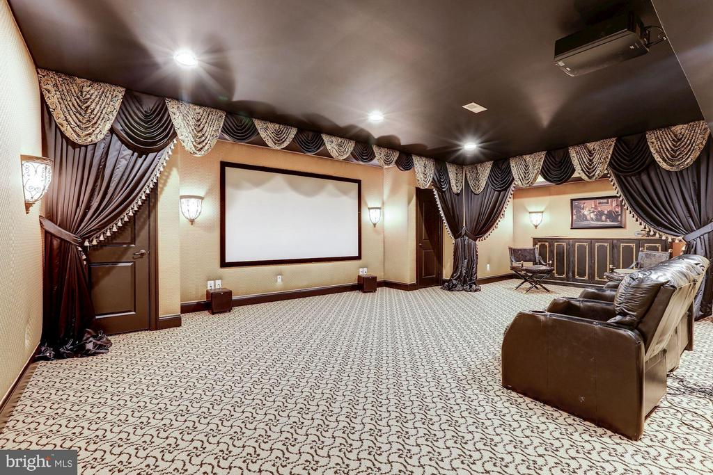 Home Theatre - 1635 ADMIRALS HILL CT, VIENNA