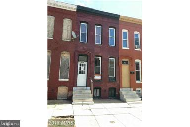 Single Family for Sale at 1513 Holbrook St Baltimore, Maryland 21202 United States