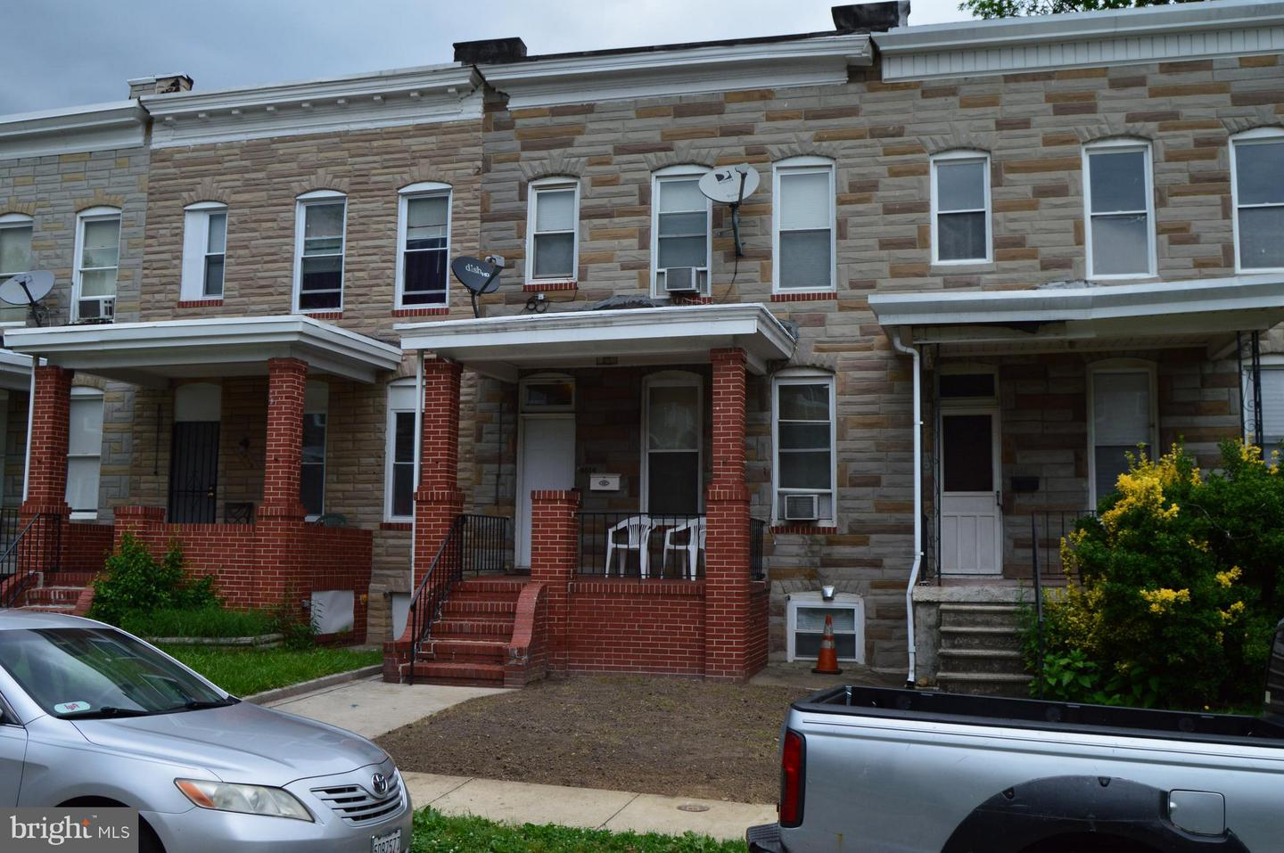 Single Family for Sale at 4014 Belwood Ave Baltimore, Maryland 21206 United States