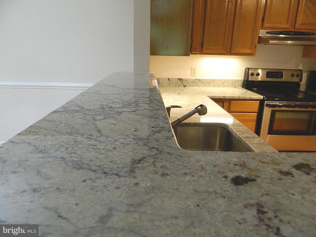 Kitchen - Granite Counter tops - 2220 SPRINGWOOD DR #109B, RESTON