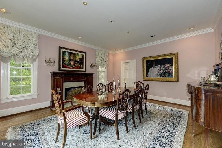 Dining Room - 4802 FOXHALL CRES NW, WASHINGTON