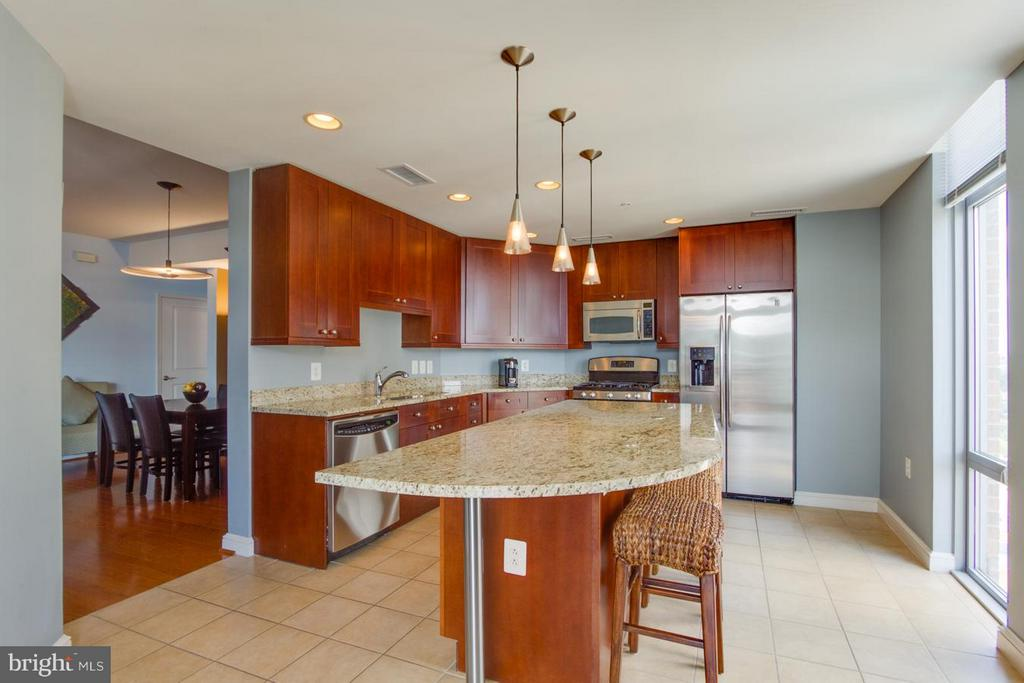 Kitchen - 11990 MARKET ST #1411, RESTON