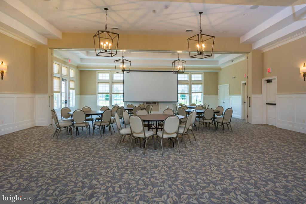 CLUBHOUSE ROOM - UPPER PATUXENT RIDGE RD, ODENTON