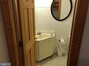 1st floor powder room - 14551 CREEK LN, WATERFORD