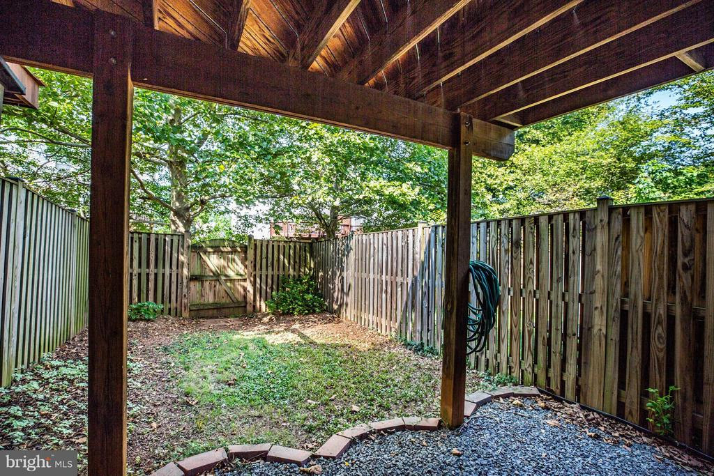 Exterior (Rear) - 3772 SUDLEY FORD CT, FAIRFAX